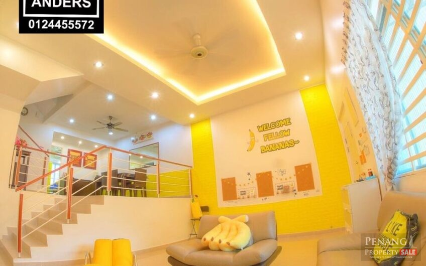 Beverly Hills Landed Three Storey Terrace House FOR SALE