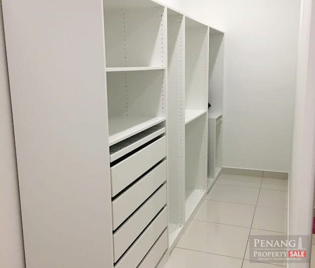 City Residence, fully furnished sea view condo in Tanjung Tokong