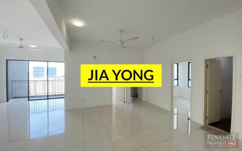 Skyview residence jelutong perak road 1250sf middle floor facing south