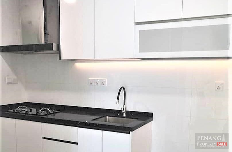Arena Residence Bayan Baru (1st hand house) Fully Renovated during MCO 2 Side by Side Car Park