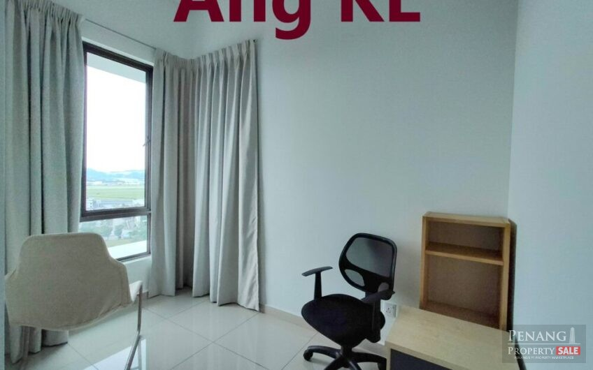 Tree Sparina Bayan Lepas 1130sqft Fully Furnished & Renovated 2 Car parks Airport View